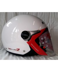KASK LS2 OTWARTY ROCKET II new GLOSS WHITE